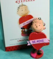 HALLMARK Keepsake Ornament Linus Big Heart Valentines