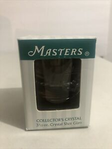 Masters Crystal Shot Glass Augusta National