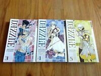 3 Manga Anime Books Dazzle Minari Very Good Condition! Tokyo Pop