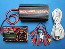 TURNIGY REAKTOR AC/DC BALANCE CHARGER & POWER SUPPLY COMBO 250W 10A 1-6S LIPO US