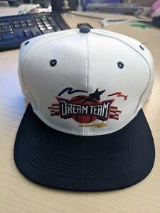 1992 USA DREAM TEAM Olympics Basketball U.S.A Hat Baseball cap Post Cereal