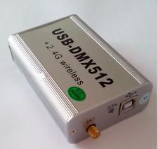 2.4G Wireless USB-DMX512 Console 3D Simulation Control LED Light PAR Controller