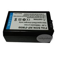 NP-FW50 new Battery for Sony Alpha NEX-7 NEX-6 NEX-5N NEX-5R NEX-3N NEX-F3