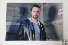 Lee Baxter from caught in the ACT imagen 20x30cm + autógrafo/Autograph en persona