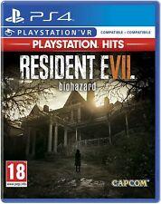 RESIDENT EVIL 7 (HITS) PS4 GIOCO NUOVO SIGILLATO ITALIANO PLAYSTATION 4 SONY DVD