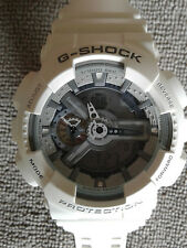 Mens Casio 5146 Ga-110C G-Shock Protection Water Resist White Brand New Battery