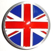 Round Union Jack FLAG Belt Buckle