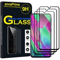 """3 Vitre Film Verre Trempe Protecteur d'écran Samsung Galaxy A40 5.9"""" SM-A405F"""