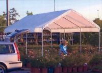 """Shelter Logic #10072 10' x 20' REPLACEMENT Canopy  for MaxAP Series 1 3/8"""" Frame"""
