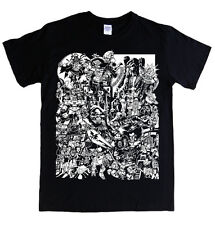 CARTOONS 80's T-shirt S - 5XL He man transformers deceptIcons thundercats mask