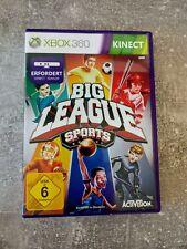 Big League Sports Kinect Spiel (Microsoft Xbox 360 )Komplett Spiel