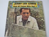 JERRY LEE LEWIS SINGS THE COUNTRY MUSIC HALL OF FAME HITS VOL. 1 VINYL LP 1969