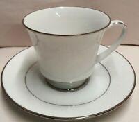 Vintage Noritake Fine China Ranier Teacup & Saucer Pn6909 c1969-96 Made in Japan