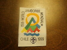 19th World Jamboree Official Participant Patch - Woven