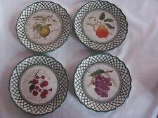 Certified International Raymond Waites -Cornucopia - Set of 4 Salad Plates