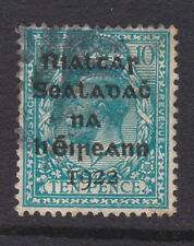 IRELAND, Scott #8: 10d, Used, 1922 Dollard Overprint in Black