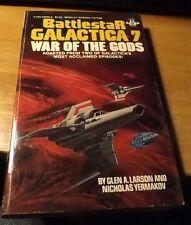 Vintage 1982 Berkley Paperback Battlestar Galactica #7 War of the Gods 182pp
