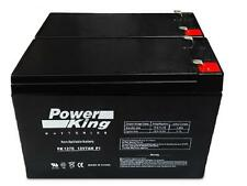 12V 7AH UPS Battery Replaces Vision CP1270 F2 CP 1270 F2 MK ES7-12 T2 - 2 Pack