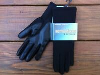 Isotoner Women Classic Sensations Stretch Gloves Black One Size