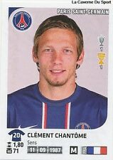 N°301 CLEMENT CHANTOME # PSG PARIS SG VIGNETTE STICKER  PANINI FOOT 2013