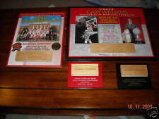 lot of 4 Maryland Terrapin NCAA Champ plaques 2002