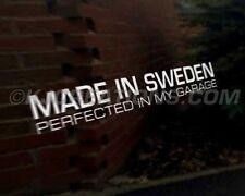 SWEDEN Car Decal Sticker Saab 95 96 V4 99 90 92 93 900 99 9-3 9-5 Turbo Aero