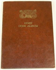 MERCURY ROOSEVELT DIME COLLECTION 98 COINS IN ALBUM 1917-1965