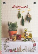 Rico Stickbuch Nr. 150, Potpourri, Blumen, Tiere, Kräuter, Kreuzstich, sticken