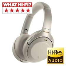 Sony WH1000XM3 Wireless Noise Cancelling Headphones, Silver