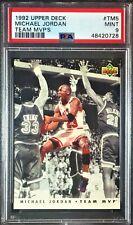 1992-93 Upper Deck Team MVP's #TM5 Michael Jordan PSA 9 Chicago Bulls