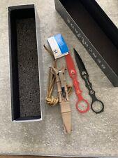 Benchmade SOCP Skeletonized Dagger & Trainer 176BKSN-COMBO Black Blade, Sheath