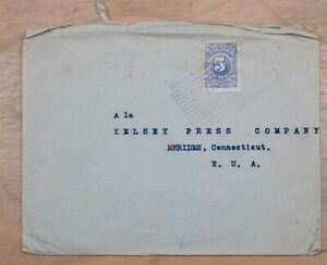 Mayfaristamps Colombia 1900s Istmina To Meriden CT USA Cover wwp10515