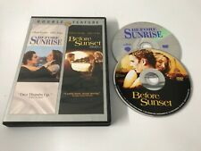 Before Sunrise & Before Sunset ~ Double Feature Dvd