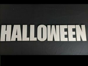HALLOWEEN Polystyrene Decorative Letters - 380mm high - 25mm thick