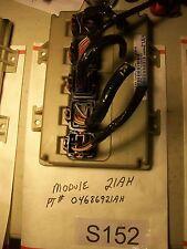 2001 DODGE CARAVAN BODY CONTROL MODULE BCM   04686921AH  W/Connetctors  #S152+