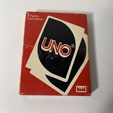 1983 UNO A Family Card Game Complete International Games Vintage