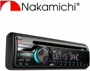 Nakamichi NA201CD/USB Car Stereo CD Receiver 50W X 4 with MP3 Brand New