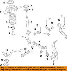 AUDI OEM 12-17 A7 Quattro-Front Bushings 4H0407515B