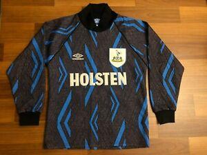 Tottenham Hotspur 1993-1995 Umbro Goalkeeper Football Shirt Jersey Trikot Size M