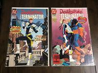 Deathstroke The Terminator #10/#11 1st Vigilante Appearance DC Comics 1992 VF/NM