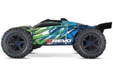 Traxxas E-Revo VXL 4WD Elek.Monster Truck BL blau/grün V.2018 TQi2.4GHz RTR 1:10