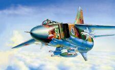 ZVEZDA 7218 - 1/72 SOVIET FIGHTER BOMBER MIG-23 MLD - NEU