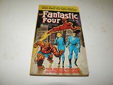 Fantastic Four Collector's Album Lancer Pb #72-111 1966 Stan Lee Jack Kirby Vg-