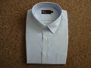 "M&S Mens EASYCARE 17""/43cm Collared Shirt BNWOT"