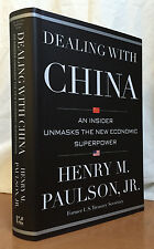 DEALING WITH CHINA by Henry M. Paulson (Hardcover)