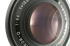 [ Excellent +4 ]  Nippon Kogaku NIKKOR-Q 3.5  135mm  Lens    for  ZENZA BRONICA