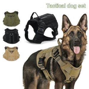 Handle Training Metal Buckle Molle Dog Working Dog Tactical Dog Harness Vest