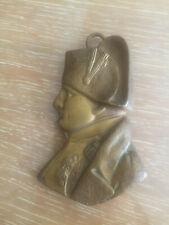 BUSTE DE NAPOLEON 1er bronze doré signé C DE FRANOZ