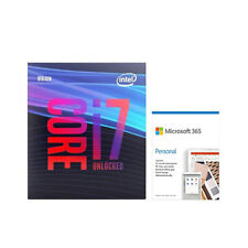Intel Core i7-9700K Desktop Processor + Microsoft 365 Personal 1 Year