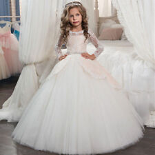 Flower Girl Dresses for Wedding Birthday Princesses Prom BallGown Pageant Party